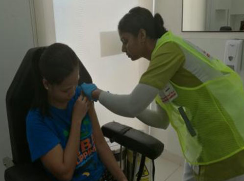BMC oman partnered with MOH is hosting for a free measles vaccination campaign