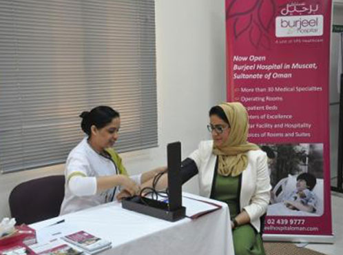Burjeel Hospital and Medical Centre – Oman partnered with The Chedi Hotel Muscat for a Healthy Living Campaign