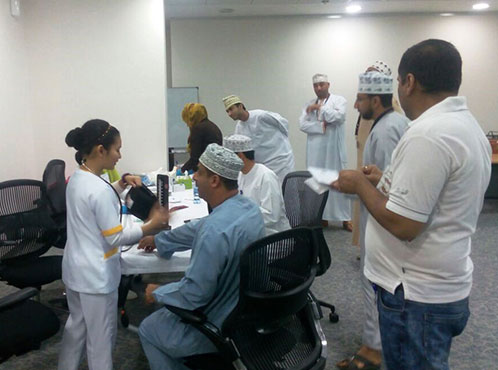 Burjeel Medical Centre - Oman partnered with Occidental Oman for a Health and Wellness Program
