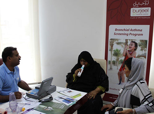 Burjeel Medical Centre – Oman hosted an Asthma Open Day