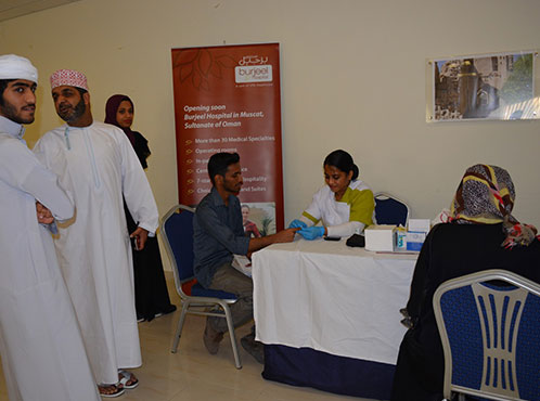 Burjeel Medical Centre – Oman partnered with Modern College of Business & Science (MCBS), Muscat.