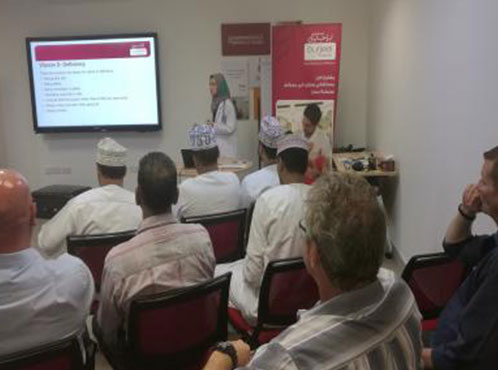 Burjeel – Oman partnered with Takatuf, Oman  for a healthy living campaign