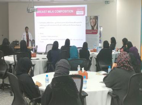 Burjeel Medical Centre – Oman partnered with Occidental Petroleum Oman for Breast Feeding Awareness