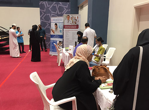 Burjeel Medical Centre, Azaiba conducts medical camp at Middle East College