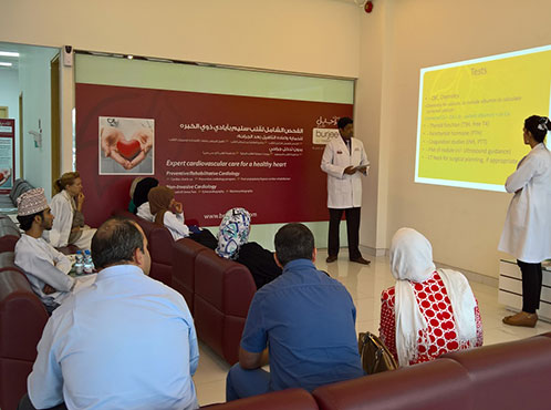 Burjeel Medical Centre – Oman hosted a Thyroid Open Day on 1 March 2016